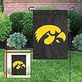 Party Animal NCAA Iowa Hawkeyes Garden Flag