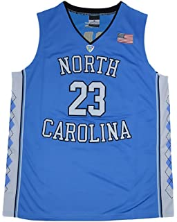 titaha Amazon.com : Men\'s North Carolina Tar Heels #23 Michael Jordan