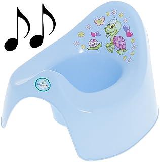 Lorelli Töpfchen Musik macht lustige Geräusche Spritzschutz leicht zu reinigen