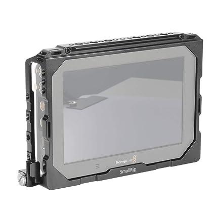 SMALLRIG Monitor Cage Jaula para Blackmagic Video Assist(BMVA) 7 ...
