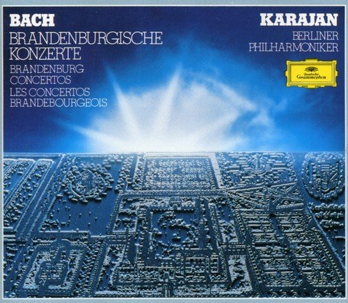 CD : J.S. Bach - Brandenburg Concerti 1-6 (Holland - Import)
