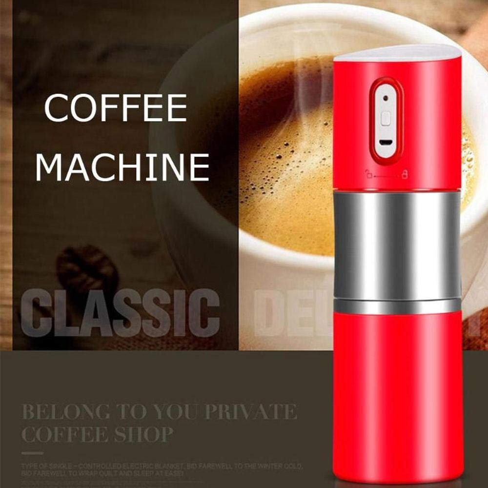 Layopo Electric Coffee Grinder USB Rechargeable Smart Coffee Bean Grinder- Multi-Function Stainless Steel Personal Coffee Grinder Coffee Cup with Filter for Office, Home, Travel, Camping by Layopo (Image #3)