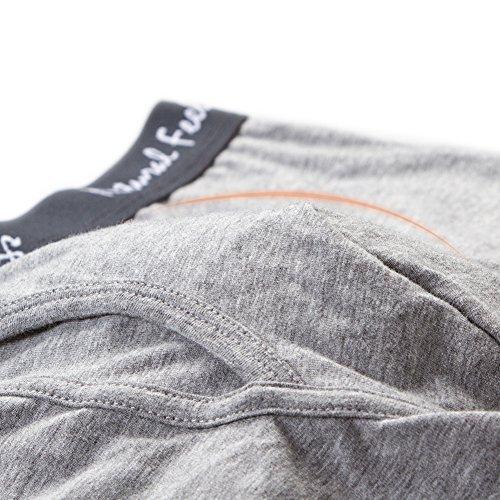 Natural Feelings Unterwäsche Herren Boxershorts Unterhose Boxer 3er Pack in Baumwolle,Weihnachtsgeschenke