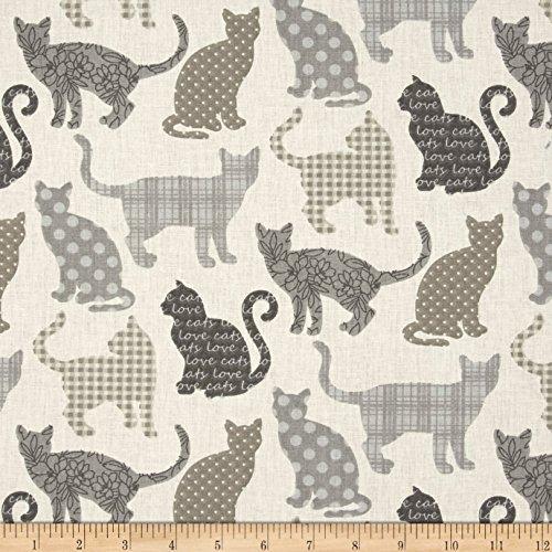 Stof Fabrics of France Chipie Naturel Yard