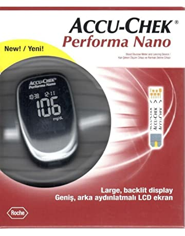 Accu Chek Performa Nano - Aparato para medir el nivel de glucosa, incorpora sistema Softclic