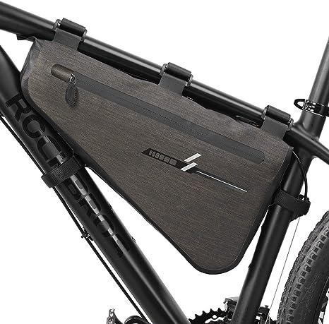 Neu Große Kapazität Dreieck Fahrradtasche Fahrrad Rahmentasche Wasserdicht DHL