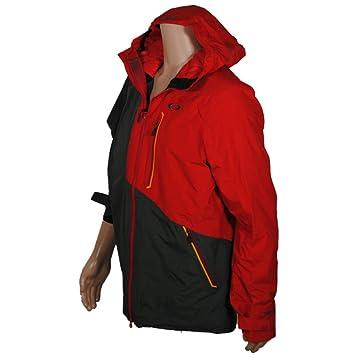 Los hombres chaqueta de snowboard Oakley Crescent Jacket, color Rojo - rojo, tamaño M: Amazon.es: Deportes y aire libre