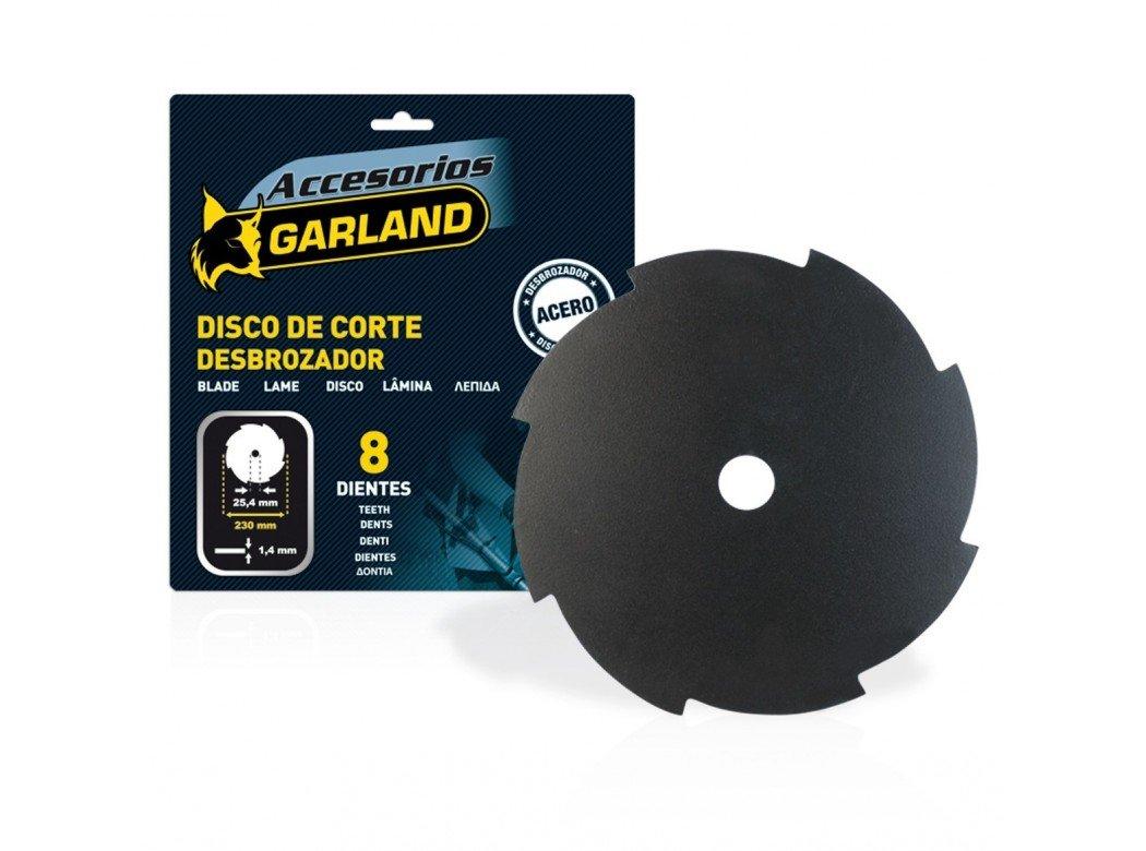 Garland 7100230148 - Disco 8 Dientes 230 mm. Ø para ...