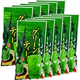 Japanese Tea Shop Yamaneen Green tea with thick especially matcha(A little sugar use) of powder 160g x 10packs