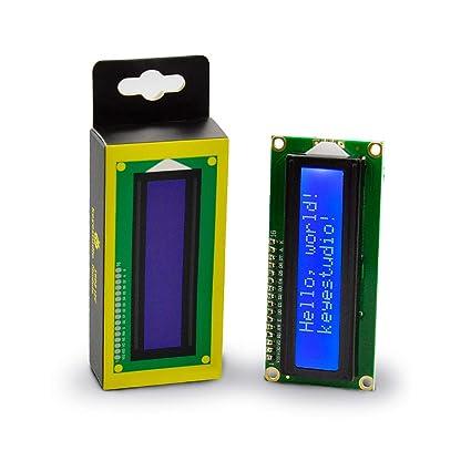 KEYESTUDIO 1602 LCD IIC/I2C/TWI Display for Arduino Raspberry Pi Avr Stm32