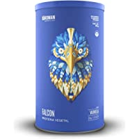 Falcon Protein Birdman, Proteína Vegetal (Vegana) en polvo Certificada Orgánica Sabor Vainilla 510 gr