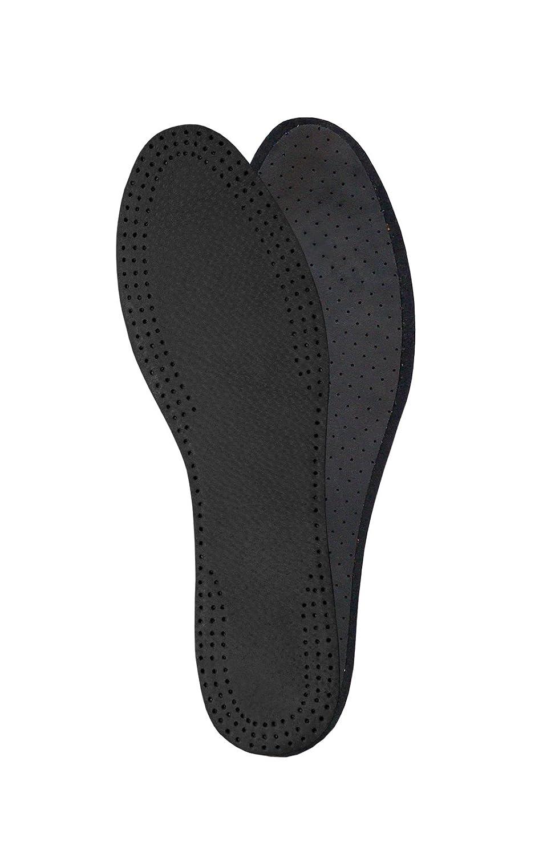 con Carb/ón Activado Negro Suelas Interiores para Se/ñoras Ideales para Tacones Altos y Sandalias 42 EUR Plantillas de Reemplazo para Botas o Zapatos de Hombre y Mujer Plantillas de Cuero