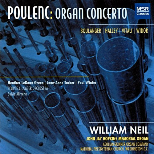 Eclipse Heather - Poulenc: Organ Concerto; Widor: Organ Symphony No.6 - Allegro; Vitali: Chaconne; Boulanger: Pie Jesu; Halley: Winter's Dream