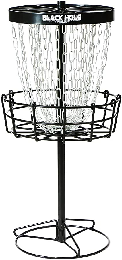 Amazon.com : MVP Black Hole Mini 24-Chain Disc Golf Basket Target : Sports  & Outdoors