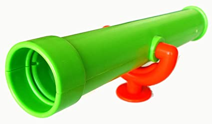 Gartenpirat teleskop apfelgrün fernrohr für kinder als zubehör für