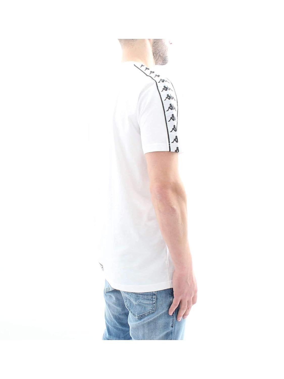 Kappa Authentic Buys White Black T-Shirt