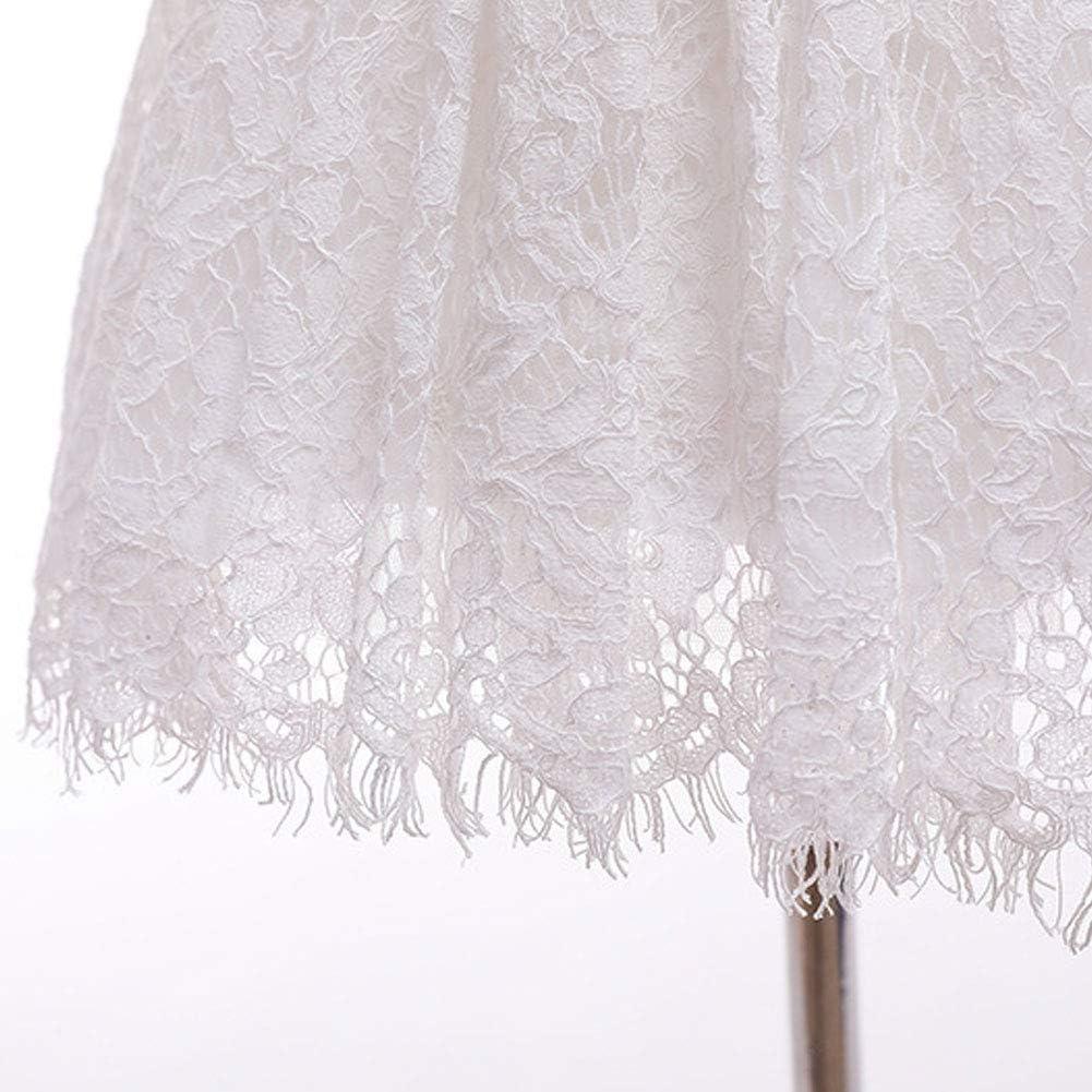 LPATTERN Robe de Bapt/ême B/éb/é Fille Manches Courte Robe de Princesse B/éb/é F/ête danniversaire Robe de C/ér/émonie Soir/ée Fille Robe de Mariage Dentelle Tulle Robe de Communion