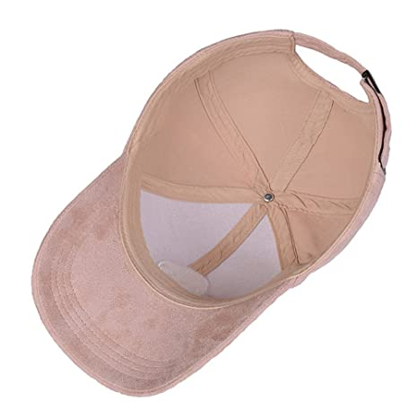 c43c7c111dd Baseball Cap Snapback Unisex Faux Suede Adjustable Aliens Embroidery  Classic Hat Baby Pink (One size fits most) at Amazon Women s Clothing store