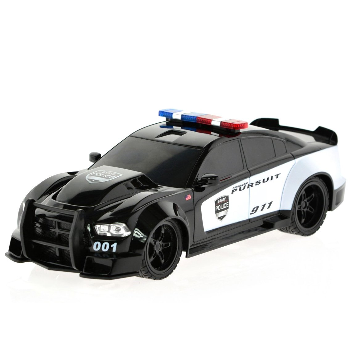 Police Car With Lights And Siren Amazon Com