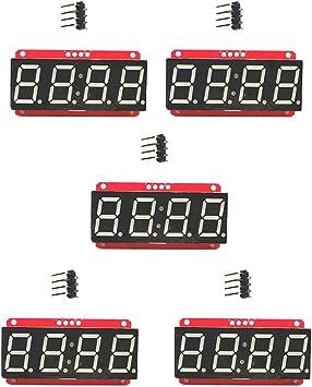 "4 Digit Seven-Segment 0.56/"" LED Display Module HT16K33 I2C for"