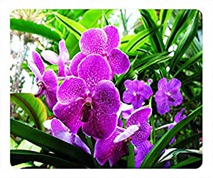 Top Chinese Flowers Design Rectangular Mouse Pad The Ordeals of the Orchid