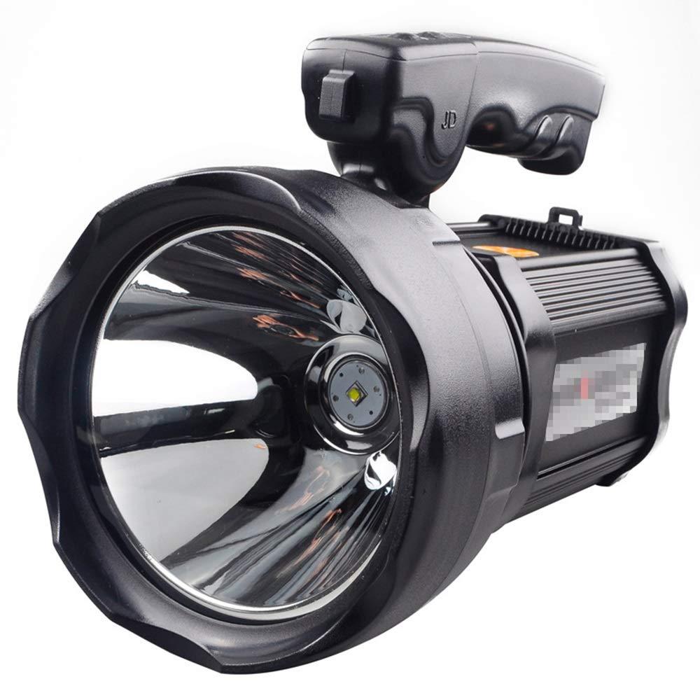 SYXL Starkes Licht-tragbarer Suchscheinwerfer-Ausgangsim Freien Jagd-kampierender nachfüllbarer Bereich von 1000 Metern