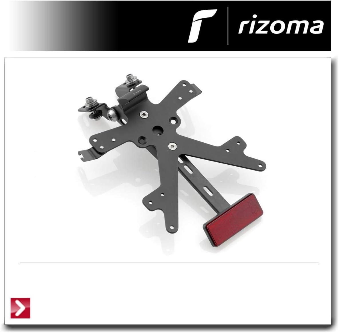 Kennzeichenhalter 100 x 162 mm RIZOMA Schwarz PT061B