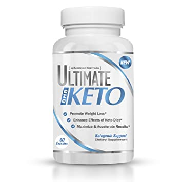 Ultimate Keto - BHB Exogenous Ketones Supplement - Weight Loss and Keto Diet Support - Enter
