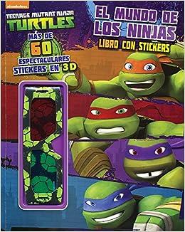 TMNT: EL MUNDO DE LOS NINJAS: DELIVERING I BOOKS & DESIGN ...