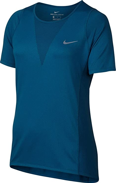cf3b30b13f Image Unavailable. Image not available for. Color: Nike Zonal Cooling Relay  Short-Sleeve Running Top