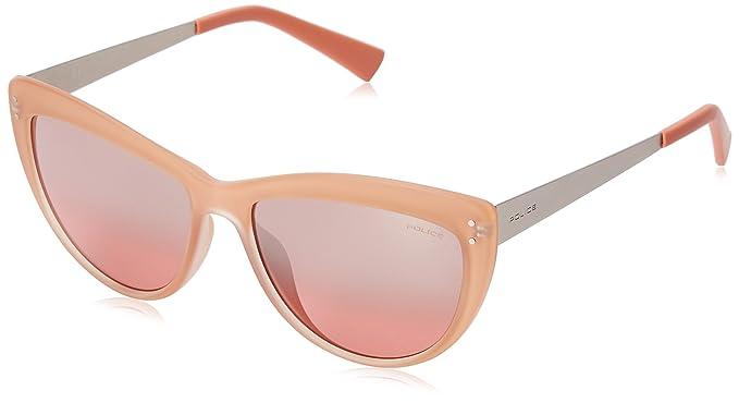 Police - Gafas de sol - para mujer Naranja Semi Matt Transp ...