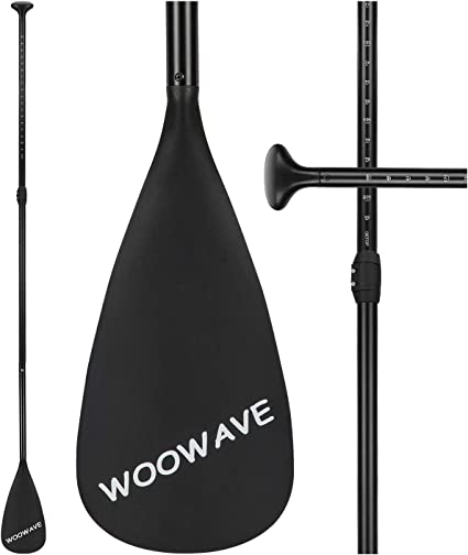 Carbon Fiber SUP Paddle Carbon Fiber Series 3-Piece Adjustable Stand Up Paddleboard Paddles