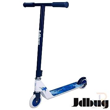 jd bug xtreme stunt scooter white blue amazon co uk sportsjd bug xtreme stunt scooter white blue