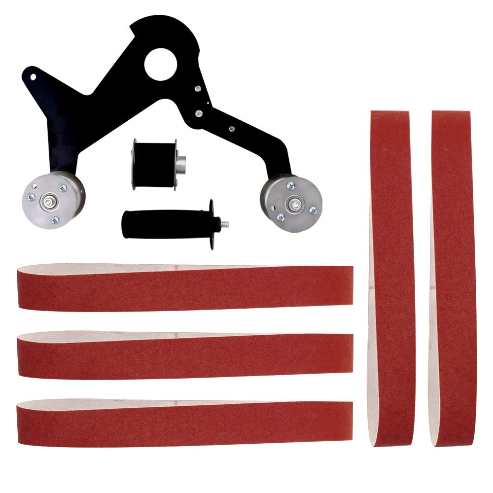 Leepesx Multifunctional Iron Angle Grinder Sanding Belt Adapter Accessories of Sanding Machine Grinding Polishing Machine