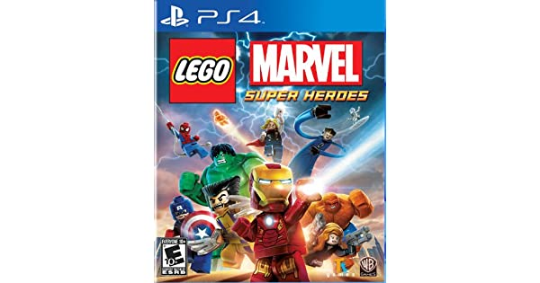 amazoncom lego marvel super heroes playstation 4 whv games video games