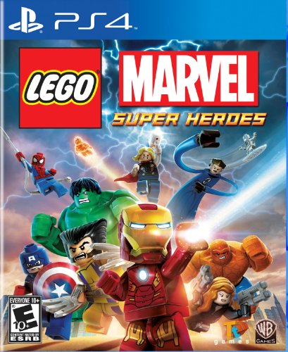 LEGO Marvel Super Heroes - PlayStation 4 (Lego Star Wars The Complete Saga Help)