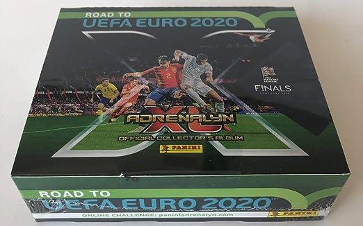 Panini - Adrenalyn XL - Road to Euro 2020 - Display (24): Amazon.es: Juguetes y juegos