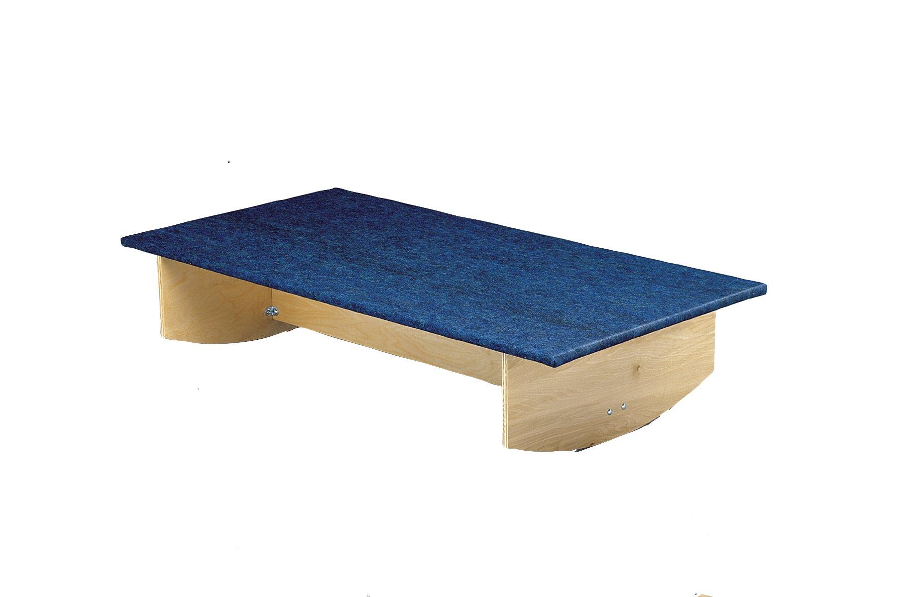 CanDo Vestibular Rocker Boards, Combination, 30'' x 60'' x 12''