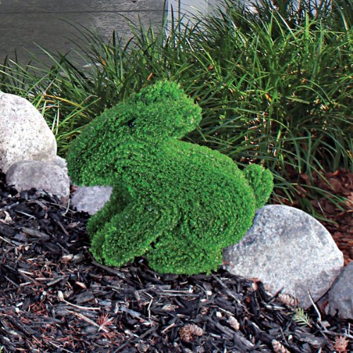 European Style Sculptural Bunny Rabbit Topiary