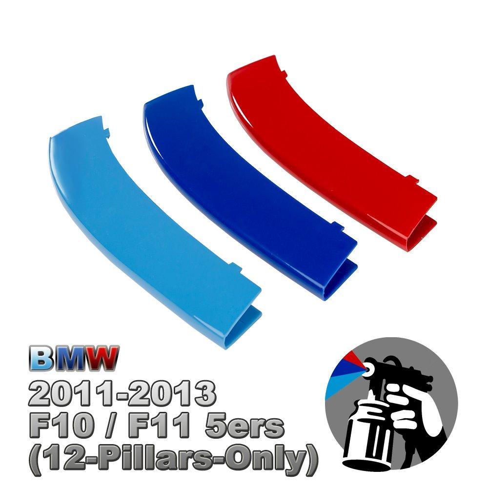 M-Color Painted Grill Stripe Inserts For 5er Kidney Grilles (G30/G31(9 Beams)) FinBot