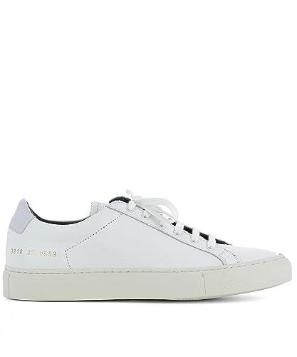 Common Projects Damen 38180509 Weiss Leder Sneakers