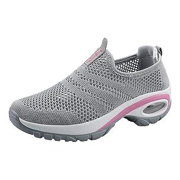 Waniba Zapatos para Mujer,Verano Zapatos,Zapato Deportivo,Calzado Deportivo Zapatos Casuales,Planos Zapatos para Caminar,Aire Libre y Deportes (40,