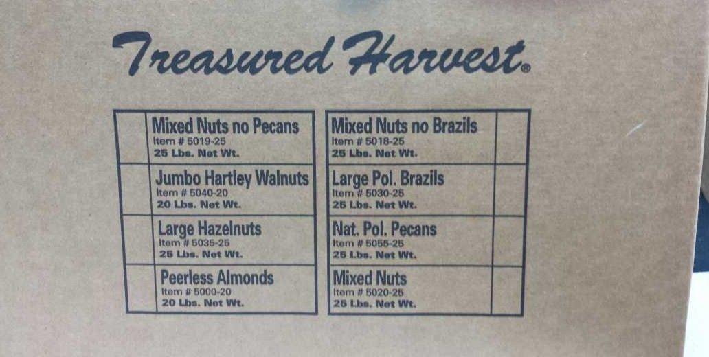 In Shell Jumbo Walnuts - 20 lb. by Treasured Harvest