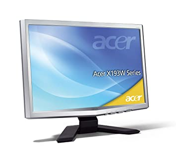 ACER LCD MONITOR X193W DRIVERS FOR WINDOWS XP