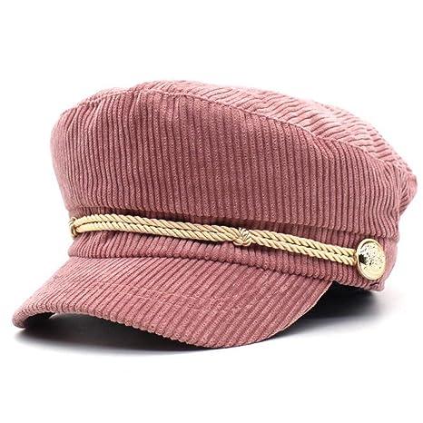 zifeifei Sombrero Sombrero de Joker de Señora Gorra Militar de ...