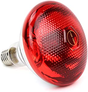 150W Near Infrared Light Bulb for Red Light Devices,PDGROW NIR- Red Light Therapy Bulbs Heat Lamp for Skin and Pain Relief