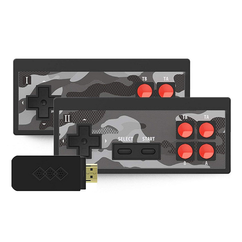 YUSAT 게임 콘솔 Y2SHD 플러스 비디오 게임 콘솔 1700 년에 지어진 고전 게임 복고풍의 미니 콘솔 무선 컨트롤러 아이와 성인을 위한