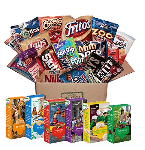 Amazon.com : Care Package with Girl Scout Cookies : Grocery & Gourmet Food