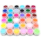 ユニークモール(UniqueMall)ジェルネイル 自由に選ぶ12色ジェル カラージェル マニキュア ネイルアートパーツ 10ML 初心者用 12色セット