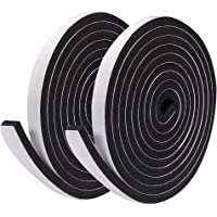 CLISPEED Foam Tape Weatherstrip Window Air Conditioner Sealer Weather Stripping Self Adhesive Backing Seals High Density…